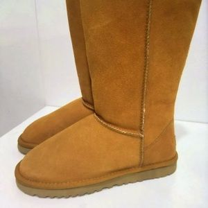 Ugg classic tall suede boots